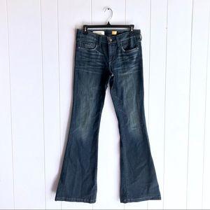 Pilcro & the Letterpress Stet Fit Flare Leg Jeans